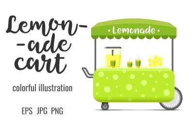 Lemonade street food cart