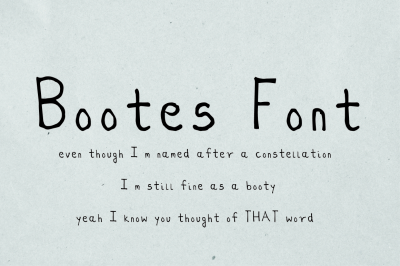 Bootes Font