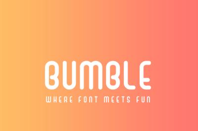 Bumble Fun Sans Serif Font