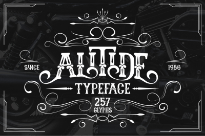 ALITIDE Typeface