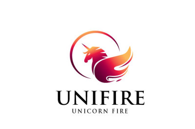 Unicorn Fire Logo