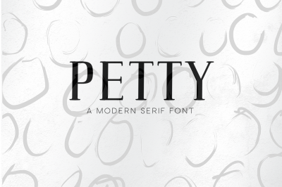 Petty - Modern Serif Font