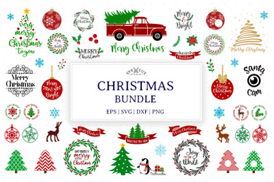 Christmas Bundle SVG files