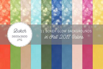 11 Bokeh Glow Backgrounds Spring 2017