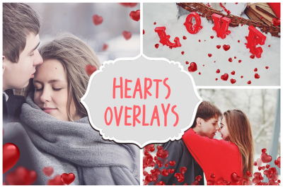 Valentine's day Overlays