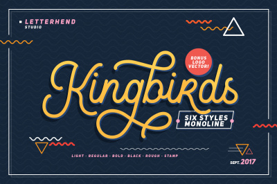 Kingbirds - 6 Styles Monoline !
