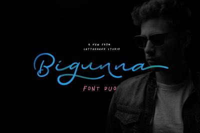 Bigunna Font Duo