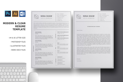 Lacerta Resume Template