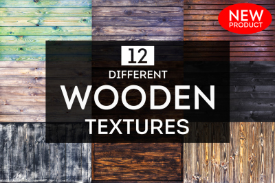 12 different wooden textures for your beautiful project