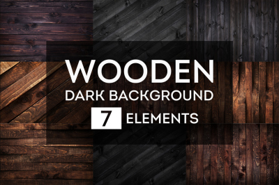7 dark wooden textures for your beautiful project