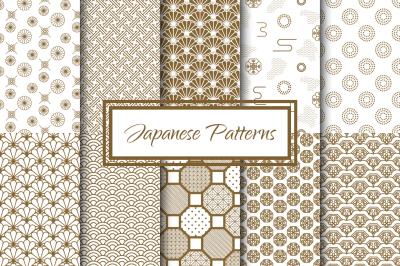 Japanese Vector Patterns