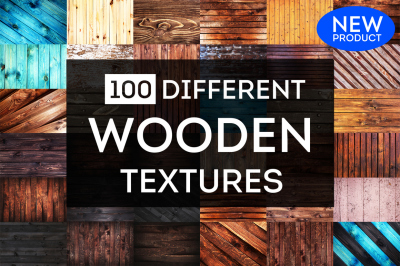 100 Wooden backgrounds