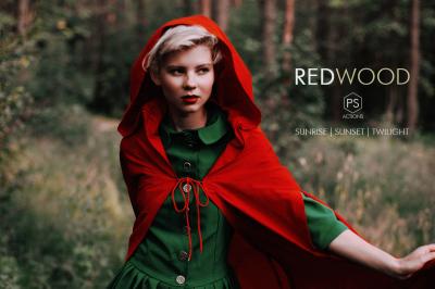 Redwood Fantasy Photoshop Actions