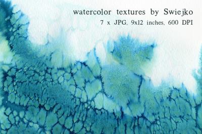 Watercolor Ombre Paper set