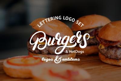 Burgers Logo Set