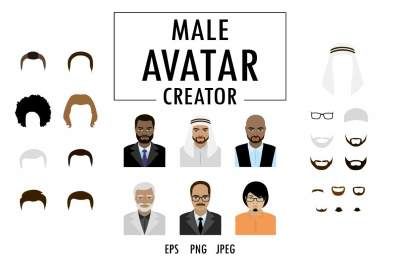 Businessman avatar creator