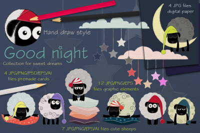 Good night Collection. Sweet dreams.
