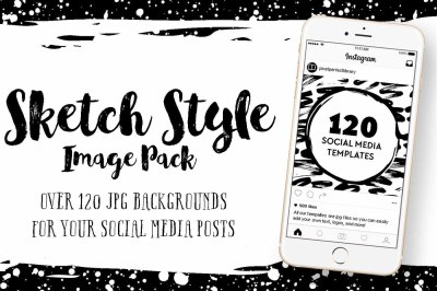 Sketch Style Image Pack