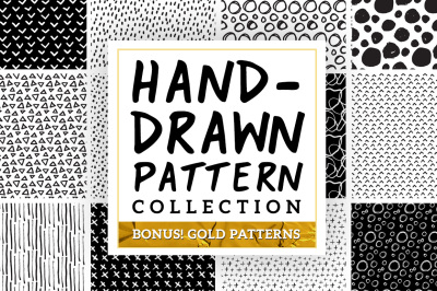 Hand-Drawn Pattern Collection