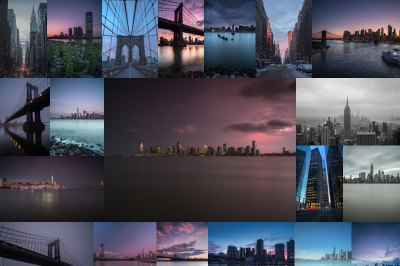Set From 21 New York Pictures