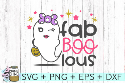 Fab BOO Lous SVG PNG DXF EPS Cutting Files
