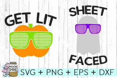 Get Lit & Sheet Faced Bundle SVG PNG DXF EPS Cutting Files