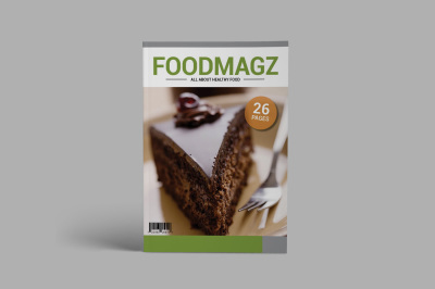 FOODMAGZ Template