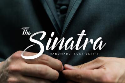 The Sinatra - Handmade Font