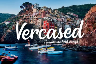 Versaced - Handmade Font