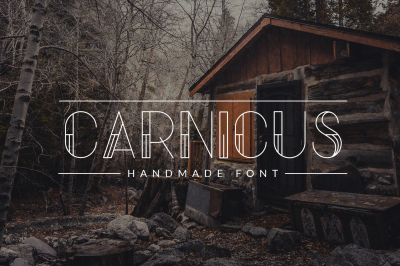 Carnicus - Font Type
