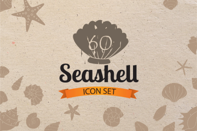 Seashell Icon Set