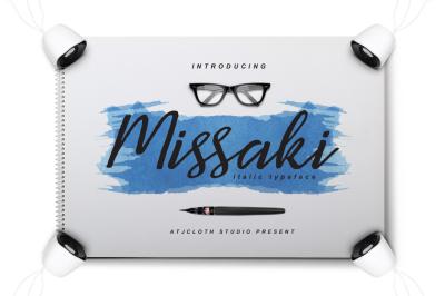 Missaki Typeface (Italic Version)