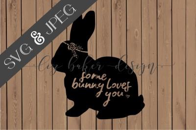 Bunny Cut File SVG JPEG