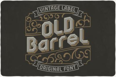 Old Barrel typeface