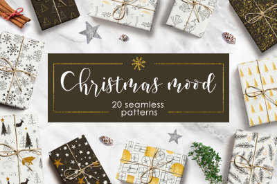 Christmas mood - pattern set