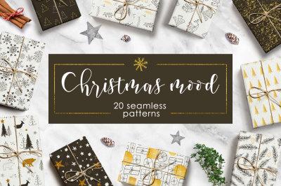 Christmas mood - pattern set