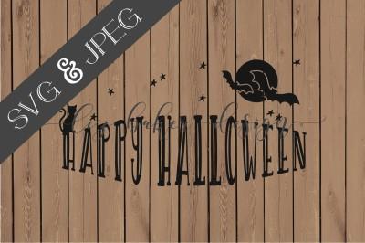 Happy Halloween SVG JPEG
