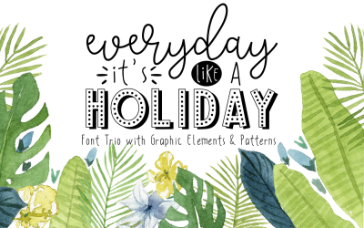 Font Trio - HITS (Holiday Package)
