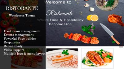 Ristorante | Wordpress Theme