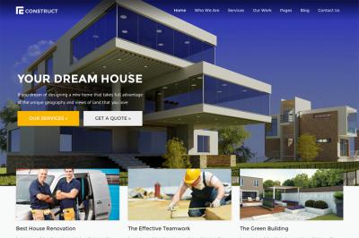 Construct | WordPress Construction Theme