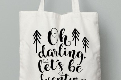 Oh Darling, Let's Be Adventurers SVG