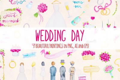 Floral Wedding 59 Watercolor Element