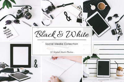 Black & White Styled Stock Photos