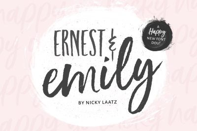 Ernest & Emily Font Duo