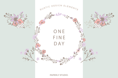 One Fine Day - Rustic Floral Design