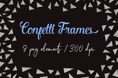 Gold Digital Frames Clipart