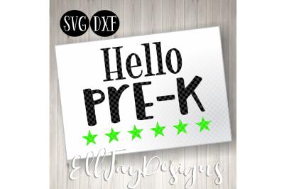 Hello Pre-K Stars