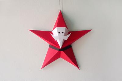DIY Santa Claus - 3d papercraft