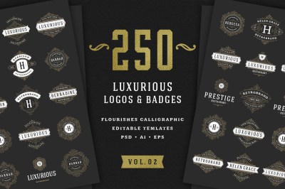 250 ornaments logos & monograms