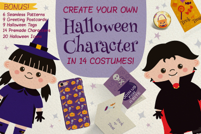 Halloween Character Creator